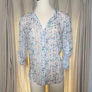 Bella Dahl airy button down blouse